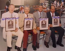 Class of 1989 Hall of Fame Inductees Autographed Photo