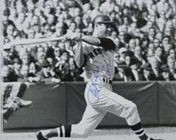 Carl Yastrzemski Autographed Photo with TC 1967 Inscription