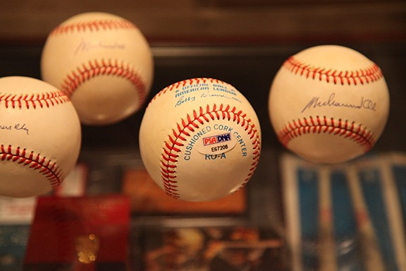 Very Rare Major League Baseballs signed with Pen by Muhammad Ali. Ali didn't sign many baseballs