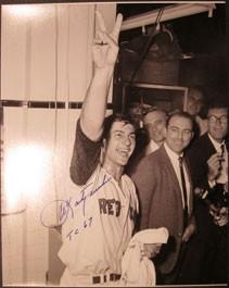 Carl Yastrzemski Triple Crown Autographed Photo