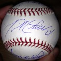 Triple Crown Signed baseball by Carl Yastrzemski, Frank Robinson and Miguel Cabrera