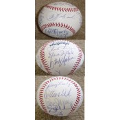 1975 Boston Red Sox Championship Team Autographed Baseball