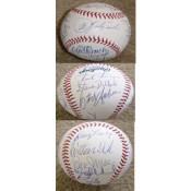 1975 Boston Red Sox Championship Team Autographed Baseball