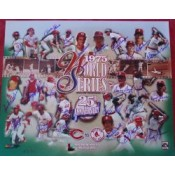 25th Anniversary Autographed Limited Edition of the 1975 World Series - Boston Red Sox/Cincinnati Reds.