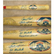 1989 Baseball Hall of Fame Class Autographed Bat