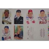 Rare Perez Steel Uncut Sheet Tenth Series Autographed