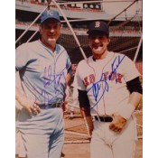 Carl Yastrzemski and Gaylord Perry Autographed Photo