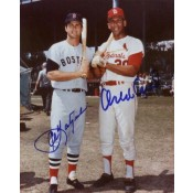 Carl Yastrzemski and Orlando Cepeda Autographed Photo