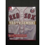Carl Yastrzemski Book Autographed