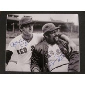 Carl Yastrzemski and Luis Tiant Autographed Photo