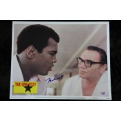 Muhammad Ali Poster Signed from the movie The Greatest Comes with Letter of Authenticity