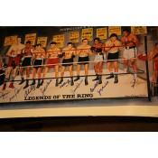 Muhammad Ali Legends Of The Ring Multiple Signatures