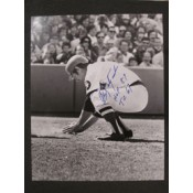 Carl Yastrzemski Homeplate Dirt Photo Autographed